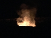 The literal volcano - half a mile away