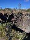 Devil's Throat crater